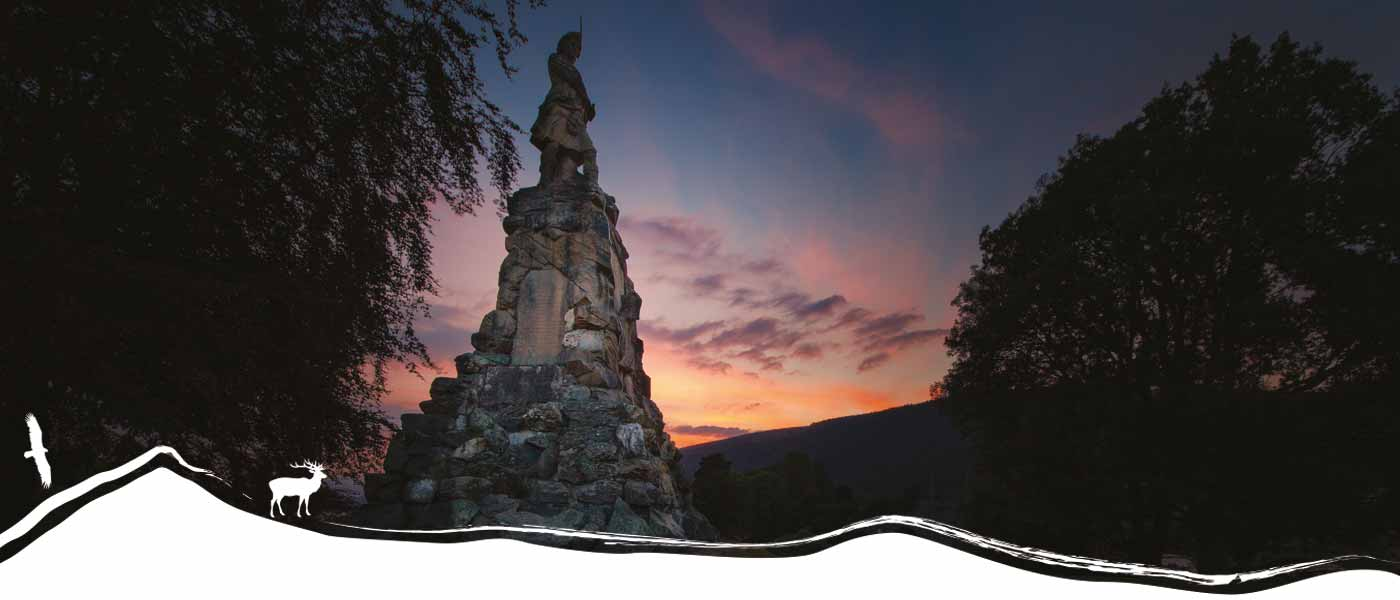 Black Watch Monument Copyright Kenmore Photography